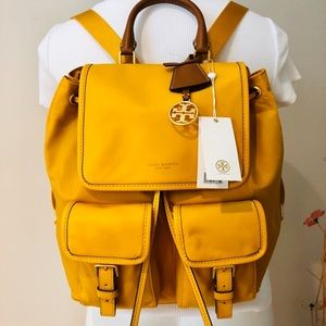 NWT Authentic Tory Burch Perry nylon flap backpack